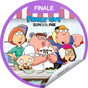 "I just unlocked the Family Guy Season 10 Finale sticker on GetGlue                      4894 others have also unlocked the Family Guy Season 10 Finale sticker on GetGlue.com                  In the Season 10 finale, Stewie and Brian hop in the time machine and head for Las Vegas and a Bette Midler concert, but the machine malfunctions and one of them is rendered ""lucky,"" while the other is ""unlucky."" Share this one proudly. It's from our friends at FOX."
