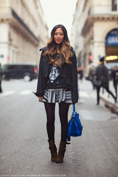 billidollarbaby:  Paris Fashion Week Streetstyle