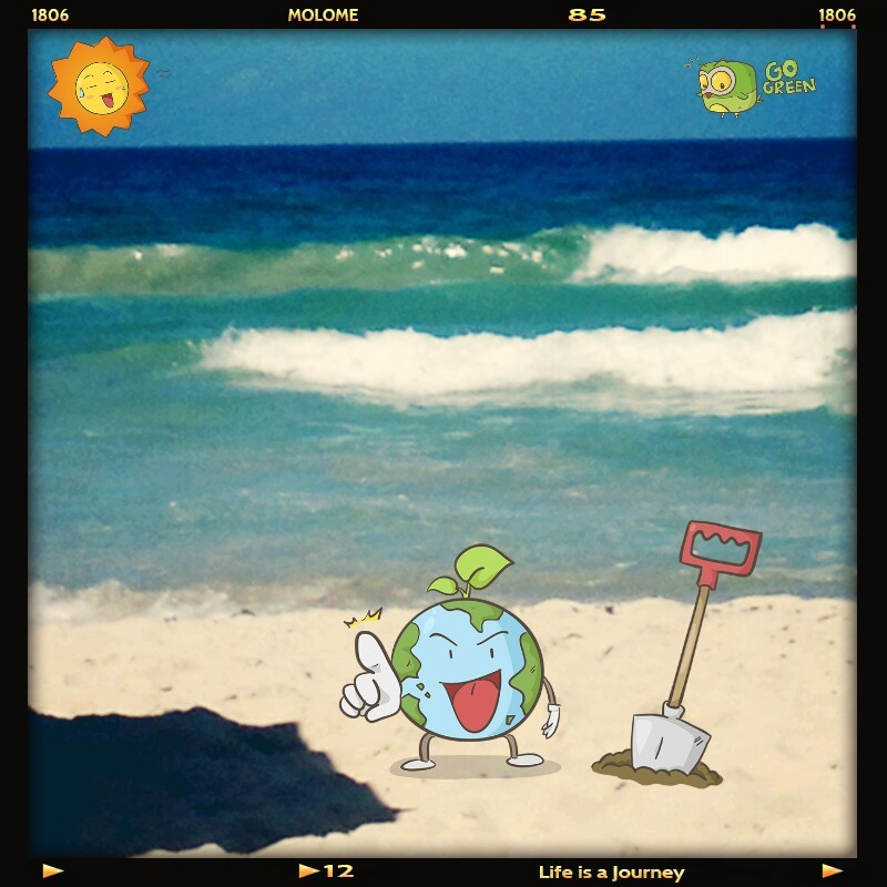 #EarthDay (Photo taken and uploaded via MOLOME )