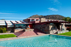 Frank Lloyd Wright's Taliesin West (1937), Scottsdale, Arizona