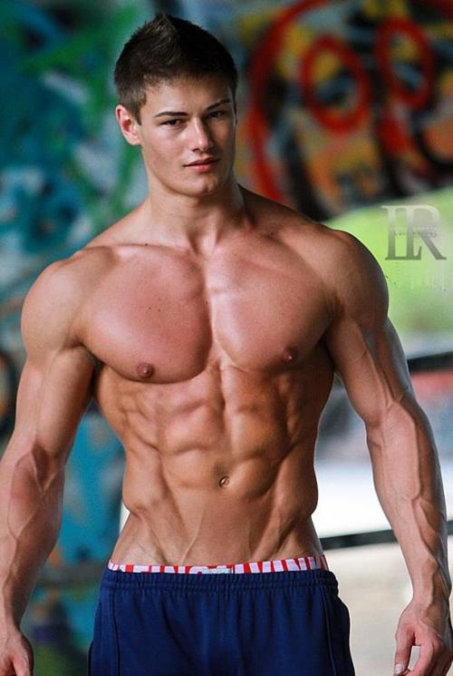 fitness model Jeff Seid.