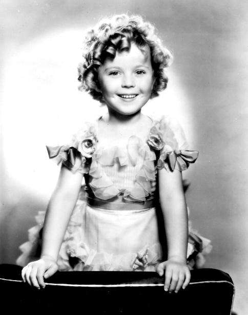 Shirley Temple, promotional photograph for The Little Colonel, 1935.