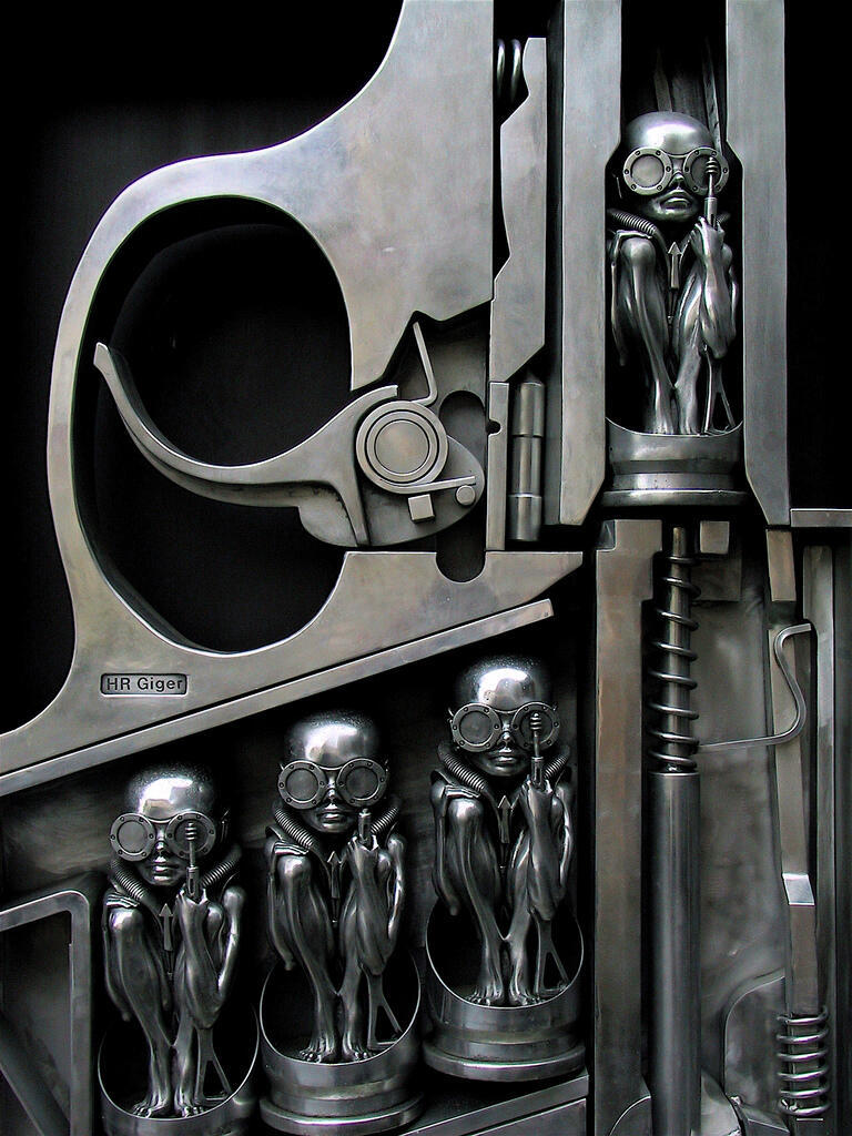 criminalwisdom:  Birth Machine by H.R. Giger Via Tilt Warning Customs