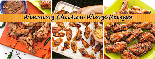 Daily Bite: Winning Chicken Wing Recipes Our crazy-good wings recipes including every flavor from Three-Alarm Mexican, Sizzling Sesame, PB&J and even Spicy Chocolate Wings!