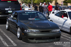 Derek's S14 at the Formula D Tech Day-Photo by meBe sure to follow me for more photos at:My tumblrMy facebook