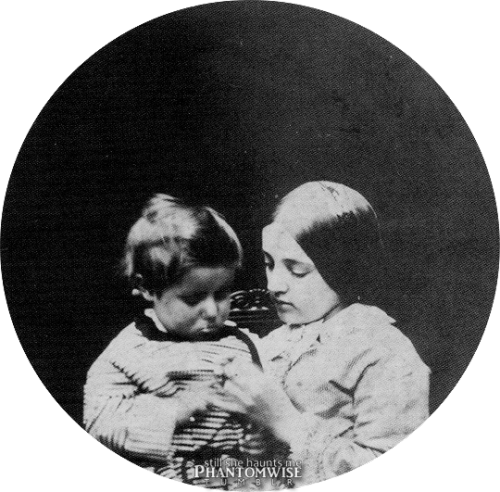 "Louis Henry ""Hal"" and Charlotte Mary Dodgson (June 1856)