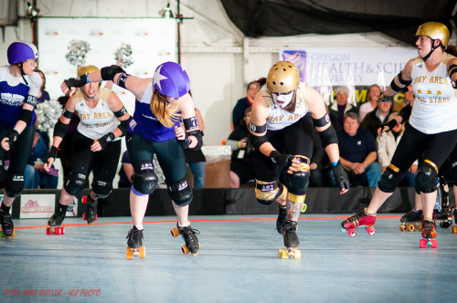 levarhurtin:  Demanda Riot vs Much Mayhem B.A.D. Allstars vs Rose City Rollers Wheels of Justice