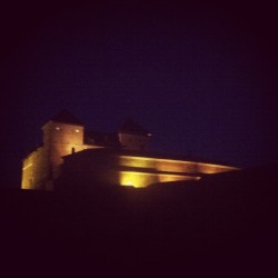 #castle #hämeenlinna #finland #night #lights #monday (paikassa Hämeen Linna)