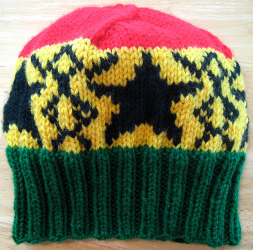 probablybullshit:  A hat. #knitting #Ghana  See my portfolio.Buy a hat ($30 ea., with $5 from each hat donated to charity).