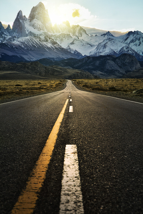 infinite-paradox:  The road to fitzroy | by Jimmy McIntyre.