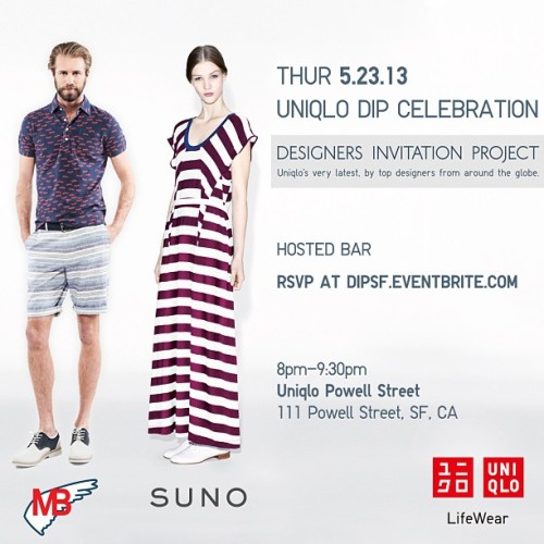 This Thursday at @uniqlousa on Powell. RSVP at http://dipsf.eventbrite.com/ (at UNIQLO (ユニクロ))