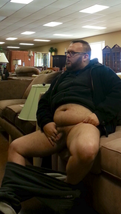 bearfugly:  electricunderwear:  suloom:  Que ricas nalgas!!  AWESOME! I love showing it off in public!!  Thanks for doing your part to dispel people's ideas that gays don't do random perverted shit because we obviously have no impulse control. Seriously, I wish all of you, when you are in a public bathroom, a library, or a hotel lobby (for fuck's sake), think before you pull out your junk and snap a selfie. You're not that fucking special that you can't just wait until you get him to pull out your junk and take a selfie.
