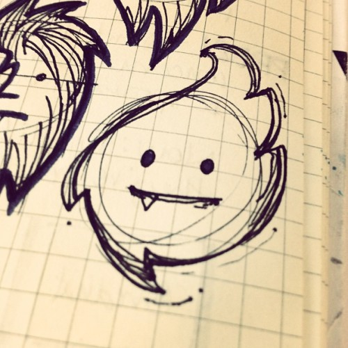 I like this little guy a lot. #meetingdoodles