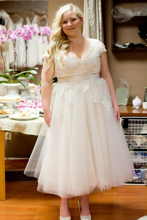 plus size vintage wedding dresses - Tumblr