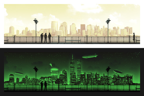 g1988:  The 2nd Fringe print has been released. This one is by Mark Englert and is glow in the dark for episode 303.  Pick it up here: http://fringebenefitsproject.com/fr/p2/