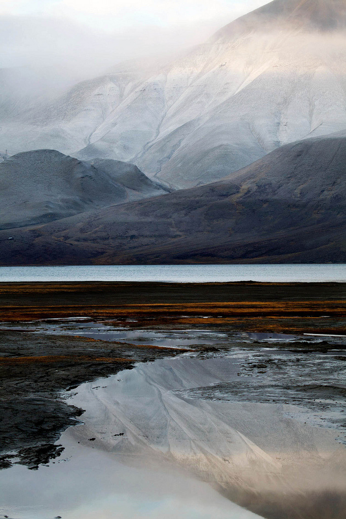 infinite-paradox:  Misty Arctic estuary © Rob Watkins (by Aland Rob)