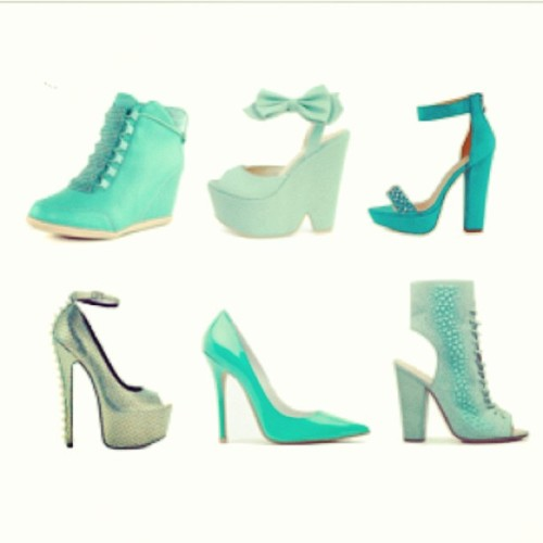 Check out my new post! Shoe Trends: Shades of GREEN