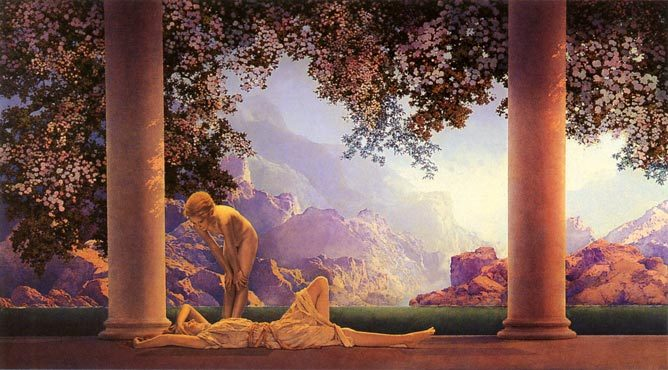 homesighs:  Maxfield Parrish