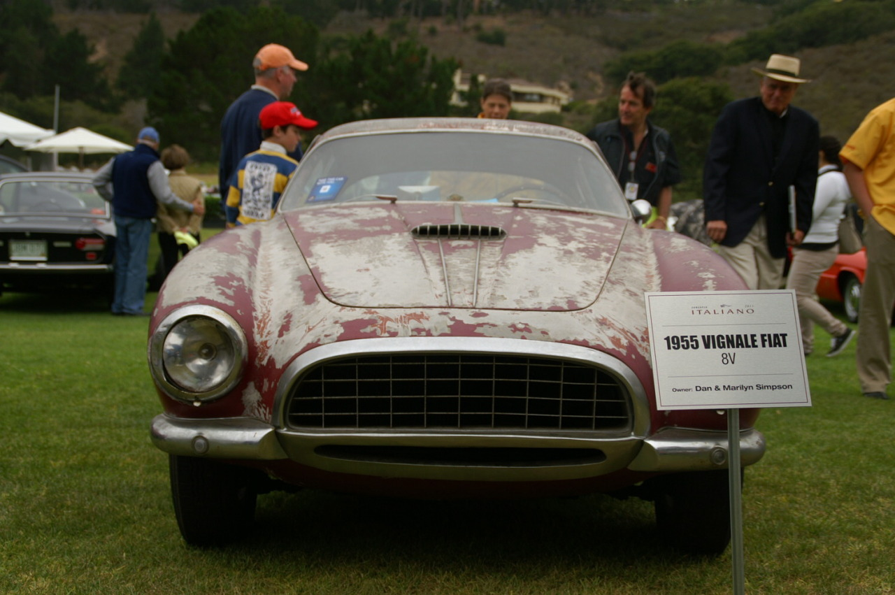 A beautiful sight to see…an original unrestored Vignale bodied Fiat 8V