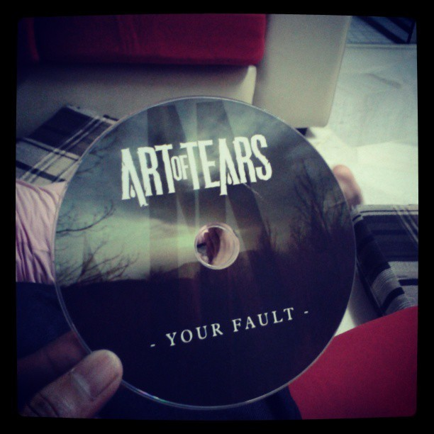 Coming to you real soon. Cc @ArtOfTearsBand .Your Fault #EP #photography #staymetal #stayhigh #street #life #staypositive #getinvolved #2013