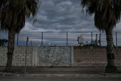 This wall surrounds the impoverished neighbourhood of Nazaret in Valencia, Spain. Built in 1992 it's locals believe that they have been segregated from the rest of Valencia, with the wall being placed there by the government to hide what is truly happening in Spain from tourists and the world.