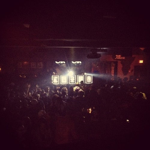 "The greatest birthday gift is a PACKED HOUSE! #Noir is officially a ""Holiday"" thank you ALL again."