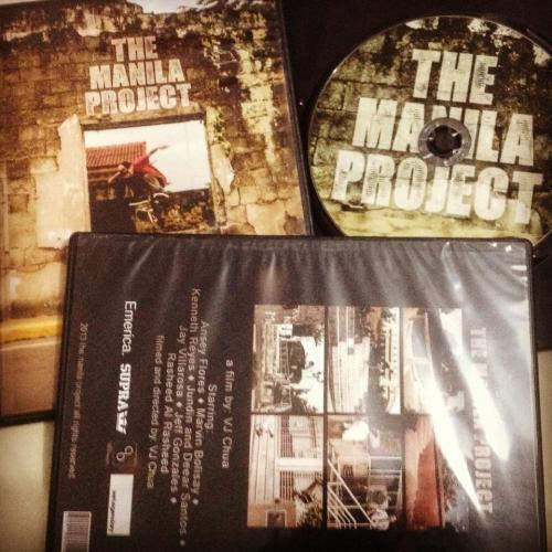 The Manila Project DVD available this Saturday at today x future.soon at your favorite local skate shop.