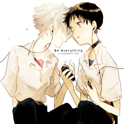 mugino:  be everything, a kawoshin fst listen / art source  be everything - the lonely forest | unfamiliar ceilings - fightstar | it's about time - barcelona | orpheum - anberlin | biloxi parish - the gaslight anthem | so contagious - acceptance | for me this is heaven - jimmy eat world | stuck (inside my head) - the graduate