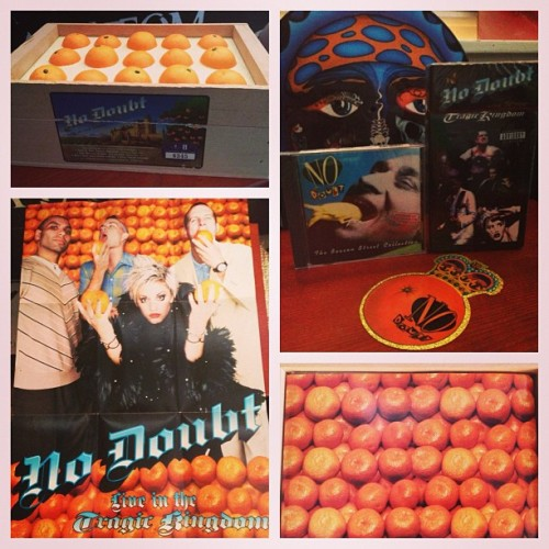 No Doubt - Live In The Tragic Kingdom: Limited Collector's Orange Crate Box Set #6345