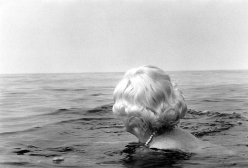 [Woman in the sea], from Fluchtgedanken, c1977 (André Gelpke)
