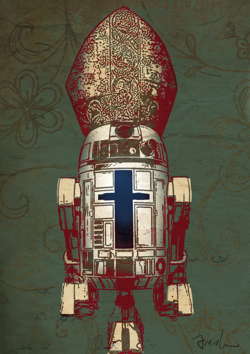 And the winner is…TechnoPope by Anthony Freda