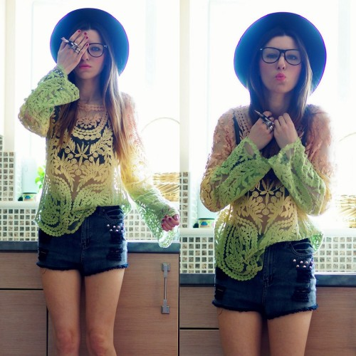 lookbookdotnu:  Ya Da One (by Agata P)  That shirt is amazing! Would this be considered a blouse though?