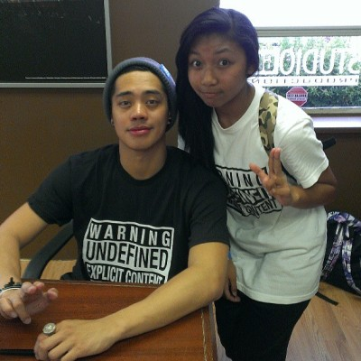 So today I took @brianpuspos' workshop today. The best part of it all was not only meeting him and getting him to take a picture and sign my phone, but it was his solo that he did at the end. After he explained the story that was behind his piece, the moves all made sense. Watching him dance live, right in front of my eyes, made me go asdfghjkl, like I couldn't believe it. I don't know what brought me to tears though… Maybe it was the expression on his face as he was dancing, or maybe it was the fact that he was right before my very eyes. LOL. At the end, when I got to meet him, I knew how tired he was. Hope he ate a lot of doughnuts LOOL. All in all, I was having a pretty shitty week, until this day came. Meeting Brian Puspos, and learning from him, made my whole entire week, maybe even month. So like yeah… Thank you Brian. (i can finally cross something off of my bucket list) <3