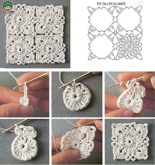 marys-dream:  Granny Square  (via Mary's Handmade Blog: Häkeln)