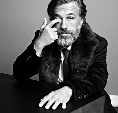 highsnobiety:  Christoph Waltz won the Oscar for best supporting role in Django Unchained and we love it.