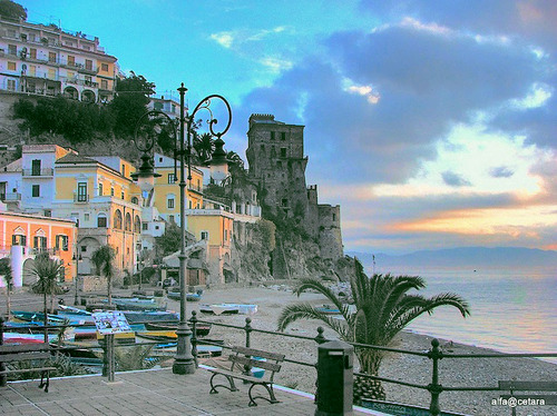 Seaside, Cetara, Italy photo via afiordi