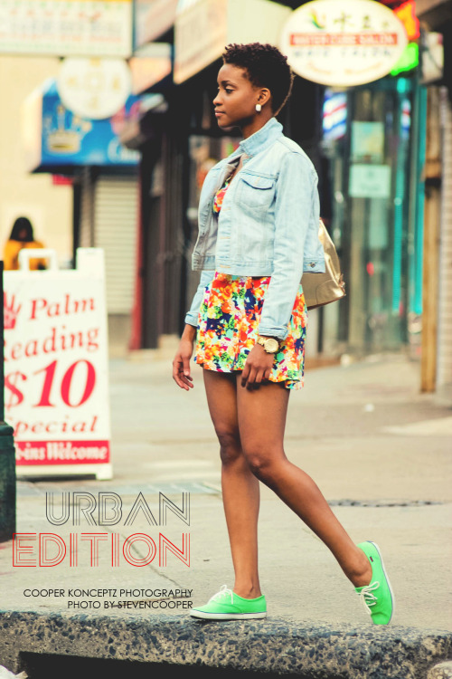 blackandkillingit:  Photo by Steven Cooper - CK Photography Shenelle Malcolm Chinatown, Philly