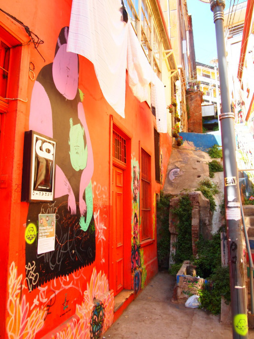 Scenes from Chile: Santiago and Valparaiso's Street Art
