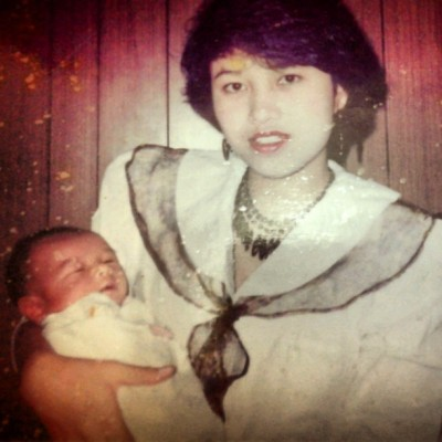 First time having baby. Bulan Februari tahun 1991. Nanaaaad >.< #mom #baby #brother #love #cute