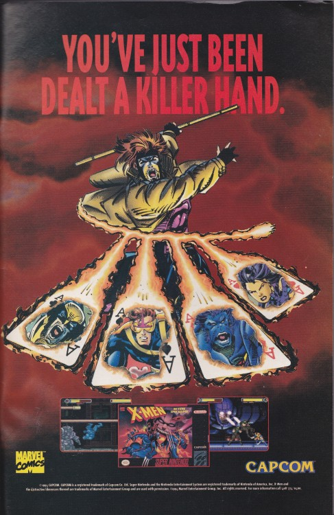 nintendoads:  X-Men: Mutant Apocalypse (SNES)