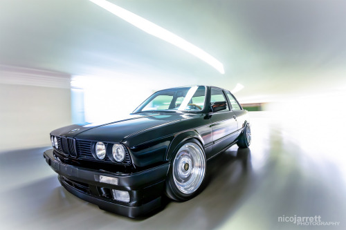 Welcome to wonderland Starring: BMW E30 (by NicoJarrettPhotography)