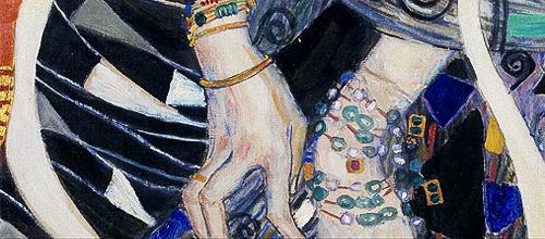 detailsdetales:  Judith II (1909) Gustav Klimt