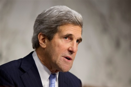 "Obama taps Kerry for Secretary of State (Photo: J. Scott Applewhite / AP) Saying that his new pick for the nation's top diplomatic job is ""not going to need a lot of on-the-job training,"" President Barack Obama announced Friday his nomination of Senate Foreign Relations Committee head and onetime Democratic presidential nominee John Kerry as the next Secretary of State. Read the complete story."