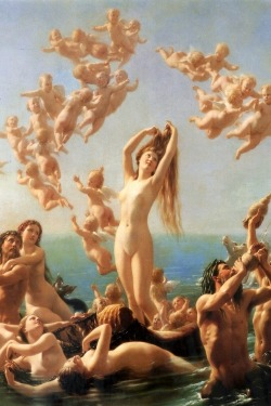 c0ssette:  Birth of Venus (1887) by Fritz Zuber-Bühler