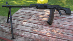 "The Russian… There is one gun that is impeding my AR-15 build. I mentioned a few posts ago that my preferred ""wasteland"" gun(s) would be an RPK-74 and AK-74. A friend of mine is willing to sell me his 74M (not the one pictured but you get the idea) if I can get the money before February 14th. He wants to buy his girlfriend an engagement ring for Valentine's Day. This will be an interesting deadline to work with but seems worthwhile."
