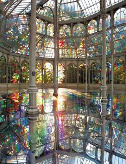 blua:  Let's go swimming: Rainbow Pool, Madrid, Spain