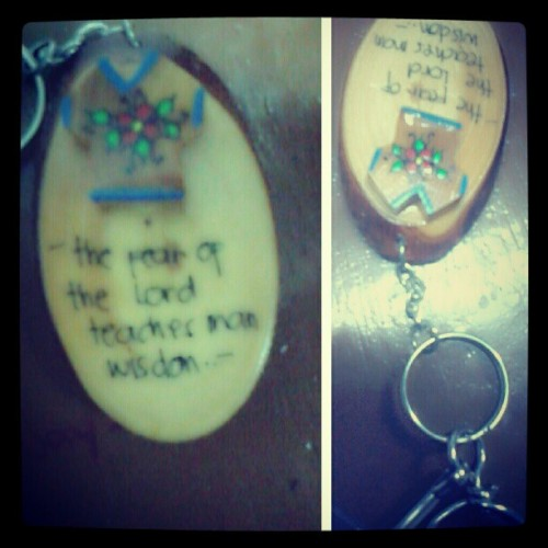 gift from @stunnermads :) #keychain #baguio #TagsForLike #photooftheday #instapic  (at Adamson University)