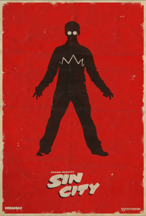herochan:  Sin City Poster Created by Mat Bond Website || Behance || DeviantArt (via:filmhabits)