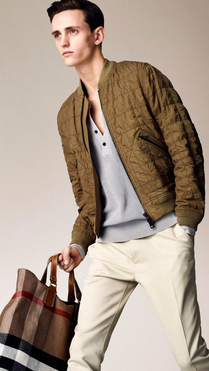 mensfashionworld:  Burberry Brit Spring/Summer 2013 Lookbook