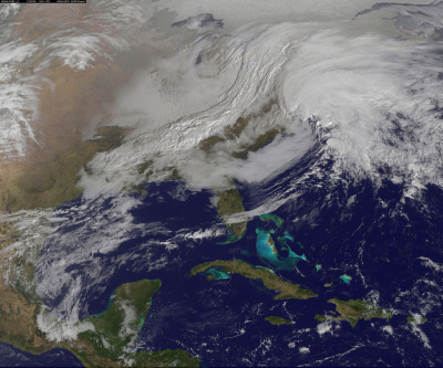 Nemo is here. Powerful U.S. Winter Nor'easter Coming Together (by NASA Goddard Photo and Video)